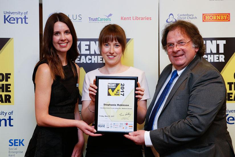 Kent Teacher of the Year Winners