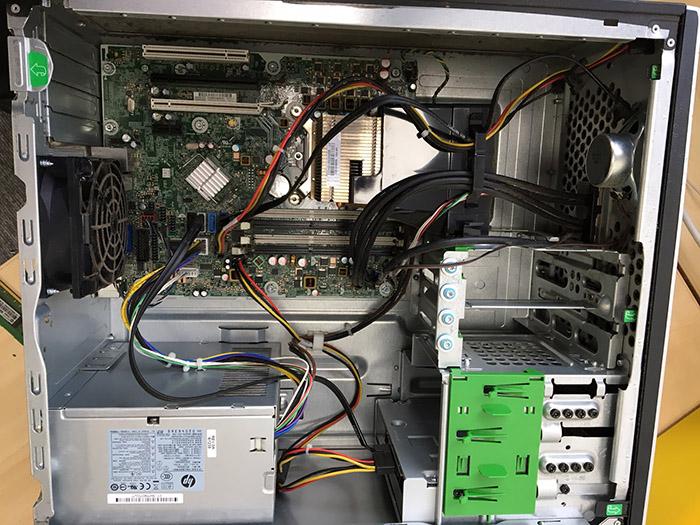 Open Computer Panel